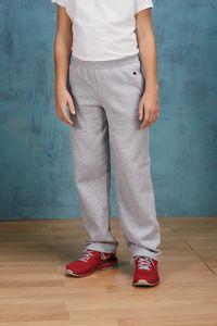 Champion Youth Double Dry Eco® Open-Bottom Fleece Pant