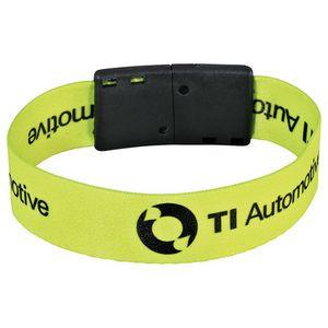 """Full Color 3/4"""" Wristband w/ Clip"""
