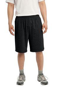 Sport-Tek® Men's Jersey Knit Shorts w/Pockets