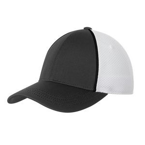 Sport-Tek® Piped Mesh Back Cap