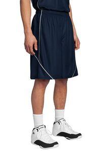 Sport-Tek® Men's PosiCharge® Mesh Reversible Spliced Shorts
